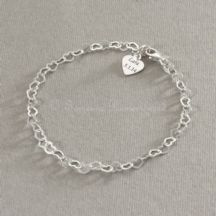 Tiny Hearts Engraveable Memorial Bracelet